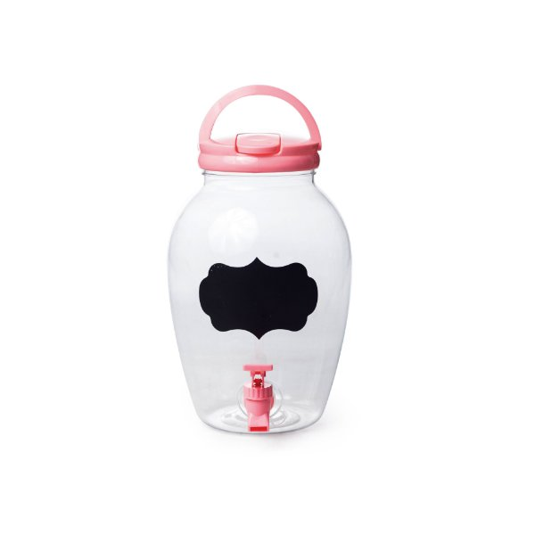 Suqueira de Plástico Rosa 4400ml - 17,5 x 27,5 - 1 Unidade - Rizzo Embalagens