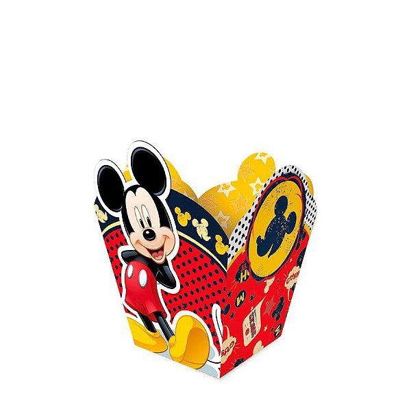 Cachepot P Festa Mickey - 8 unidades - Regina - Rizzo Festas