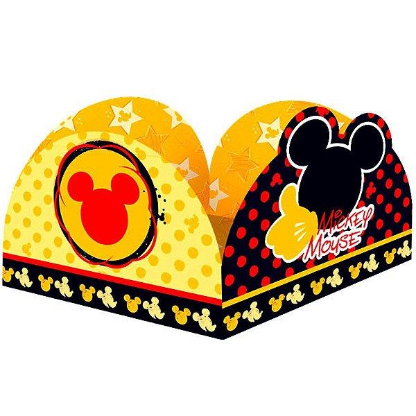 Porta Forminha para Doces Festa Mickey - 50 unidades - Regina - Rizzo Festas