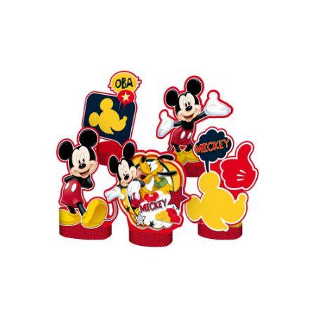 Decoração de Mesa Festa Mickey - 5 unidades - Regina - Rizzo Festas