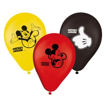 Balão Festa Mickey - 25 unidades - Regina - Rizzo Festas