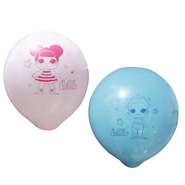 Balão Festa LOL - 25 unidades - Regina - Rizzo Festas