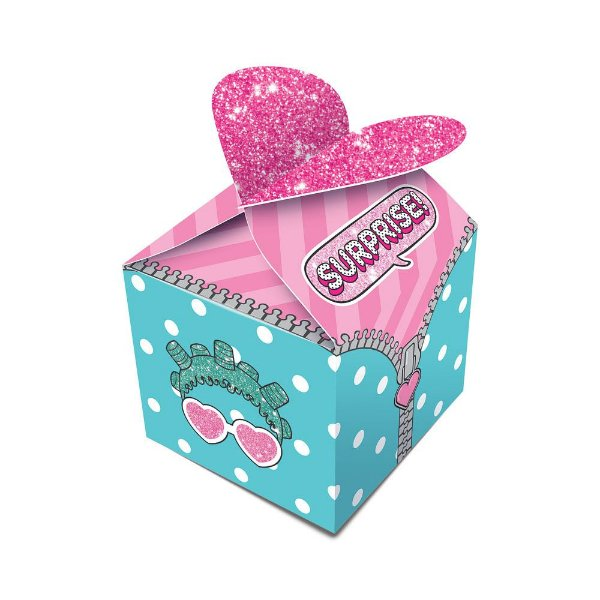 Caixa para Lembrancinhas Festa LOL Surprise - 8 unidades - Junco - Rizzo Festas