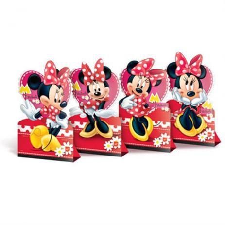 Decoração de Mesa Festa Minnie - 4 unidades - Regina - Rizzo Festas