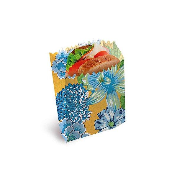 Saquinho para Lanche Chita Amarela 10x8x4cm Festa Junina - 50 unidades - Cromus - Rizzo Festas