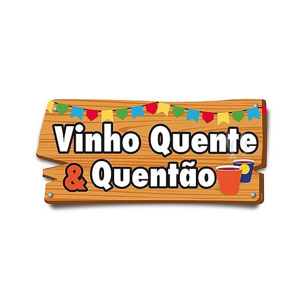 Placa de Sinalização Bingo Festa Junina - 01 unidade - Cromus - Rizzo Festas