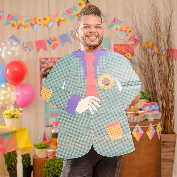 Painel para Fotos Menino Festa Junina - 01 unidade - Cromus - Rizzo Festas