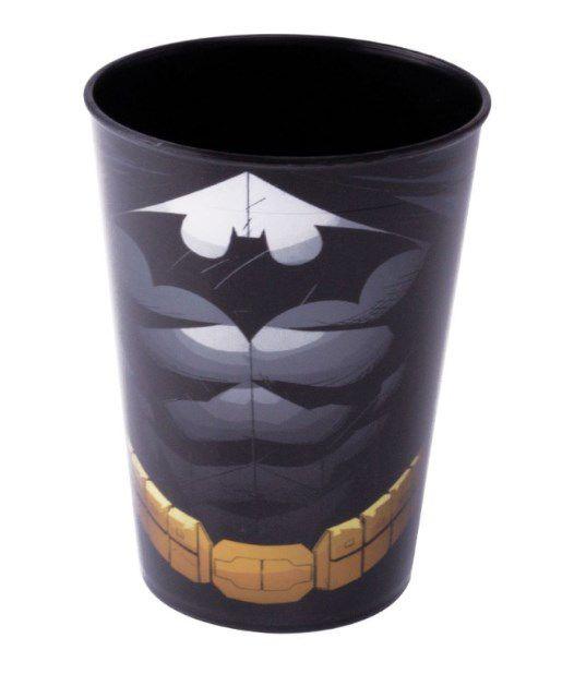 Copo de Plástico Batman 320ml - 1 unidade - Plasútil - Rizzo Festas