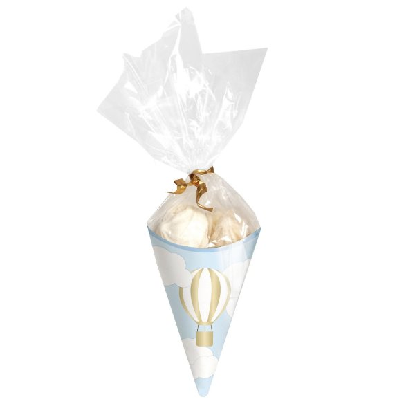 Kit Mini Cone Festa Aventureiro - 8 unidades - Cromus - Rizzo Festas