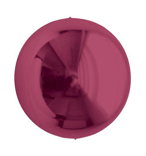 Balão Metalizado Esphera Marsala 20'' - 01 unidade - Sempertex Cromus - Rizzo Festas
