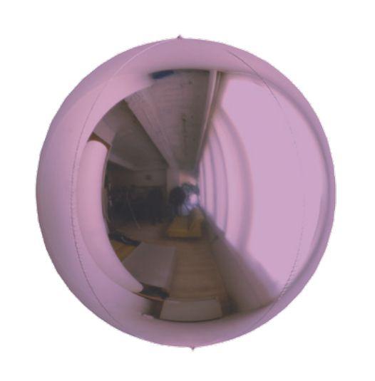 Balão Metalizado Esphera Lilás 20'' - 01 unidade - Sempertex Cromus - Rizzo Festas