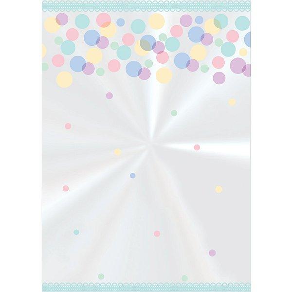 Saco Decorado Pettit Colors - 15cm x 22cm - 50 unidades - Cromus - Rizzo Embalagens