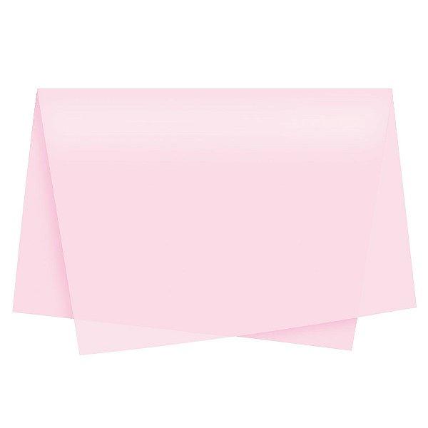 Papel de Seda - 49x69cm - Rosa - 10 folhas - Rizzo Embalagens