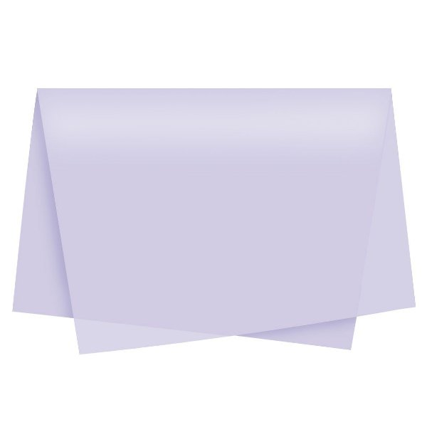 Papel de Seda - 49x69cm - Lilás - 10 folhas - Rizzo Embalagens