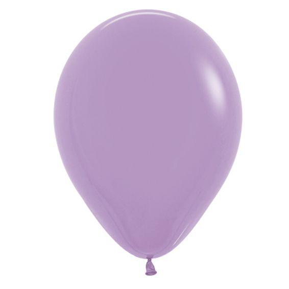 Balão de Festa Latex R12'' 30cm - Fashion Lilás - 50 unidades - Sempertex Cromus - Rizzo Festas