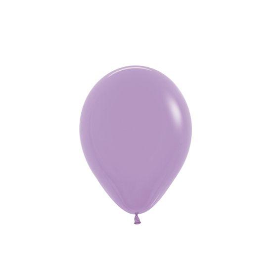 Balão de Festa Latex R5'' 12cm - Fashion Lilás - 50 unidades - Sempertex Cromus - Rizzo Festas