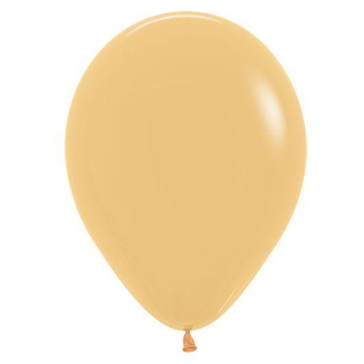 Balão de Festa Latex R12'' 30cm - Fashion Mocha - 50 unidades - Sempertex Cromus - Rizzo Festas