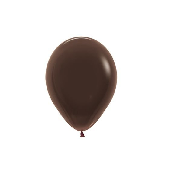 Balão de Festa Latex R5'' 12cm - Fashion Chocolate - 50 unidades - Sempertex Cromus - Rizzo Festas