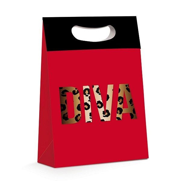 Caixa Plus Diva G 26 x 11 x 40cm - Cromus - Rizzo Embalagens