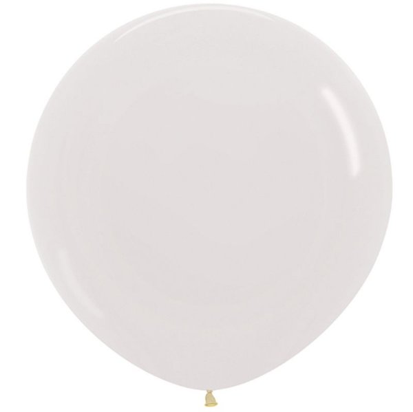 Balão de Festa Latex R36'' 91,5cm - Cristal Transaparente - 02 unidades - Sempertex Cromus - Rizzo Festas