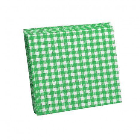 Guardanapo Xadrez Verde 20cm Festa Junina - 25 unidades - Kaixote - Rizzo Festas