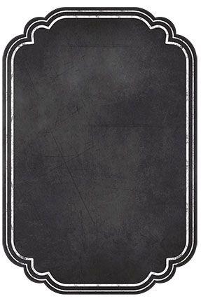 Plaquinha Decorativa MDF Lousa 2 Placa Preto - LitoArte - Rizzo Embalagens