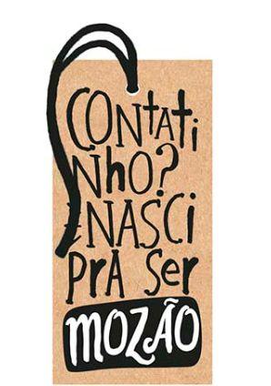 Tag Decorativa MDF Contatinho ? - LitoArte - Rizzo Embalagens