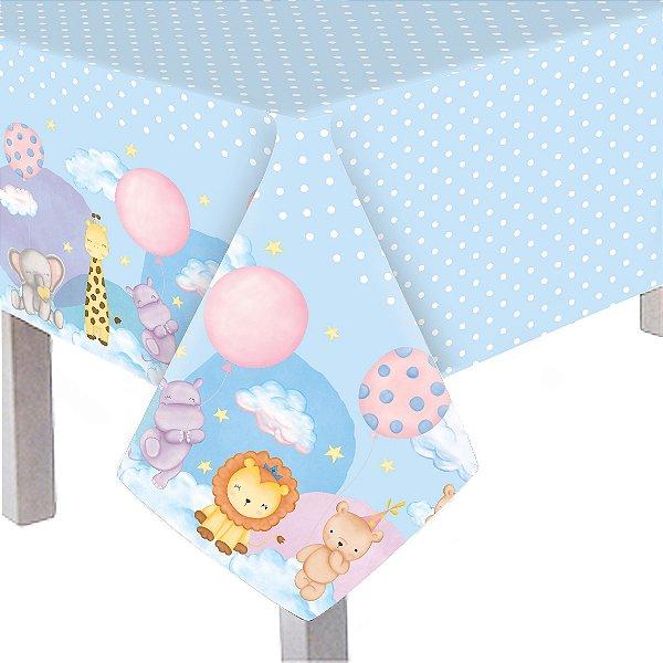 Toalha De Mesa Principal Festa Bichinhos Baby - Cromus - Rizzo Festas