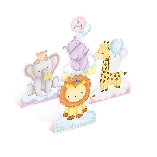 Decoração de Mesa Festa Bichinhos Baby - 4 unidades - Cromus - Rizzo Festas