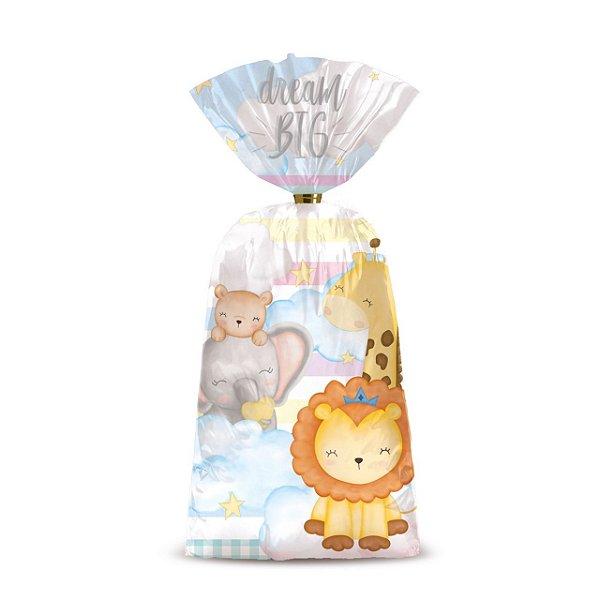 Sacolinha p Lembrancinha Festa Bichinhos Baby - 8 unidades - Cromus - Rizzo Festas
