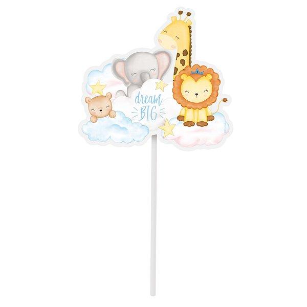 Topo de Bolo Festa Bichinhos Baby - Cromus - Rizzo Festas
