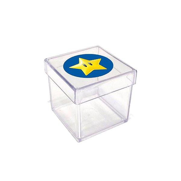 Caixinha Acrílica para Lembrancinha Festa Mario Kart - 20 unidades - Rizzo Festas