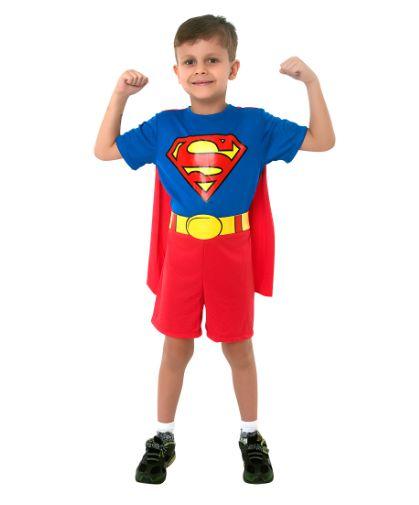 Fantasia Super Homem M - 1 Unidade - Sula - Rizzo Festas