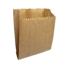 Saquinho de Papel - Liso Kraft - 10,5cm x 16cm - 10 unidades - Rizzo Festas