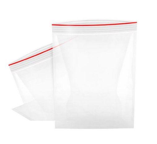 Saco Zip Transparente 17x25cm - 100 Unidades - Rizzo Embalagens