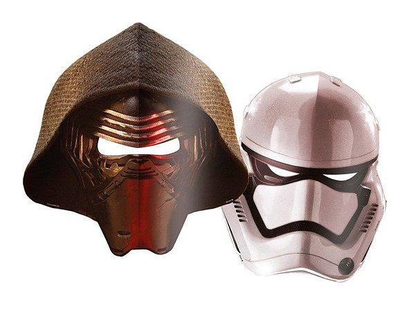 Máscara Festa Star Wars - 6 unidades - Regina - Rizzo Festas