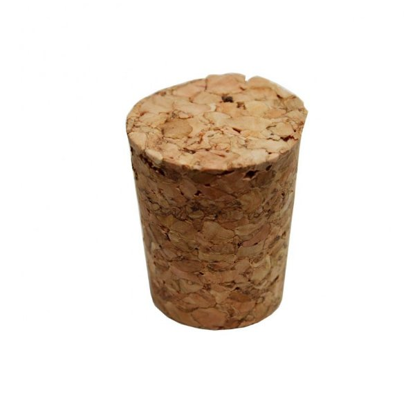 Rolha Cortiça Cônica 1,5x1,5 - 1 Unidade - Rizzo Embalagens