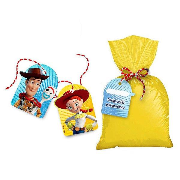Tag para Lembrancinha Festa Toy Story 4 - 8 unidades - Regina - Rizzo Festas