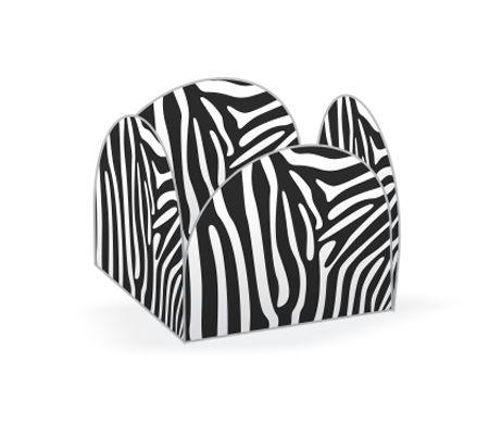 Forminhas para Doces 4 Pétalas Zebra - 50 unidades - NC Toys Rizzo Embalagens