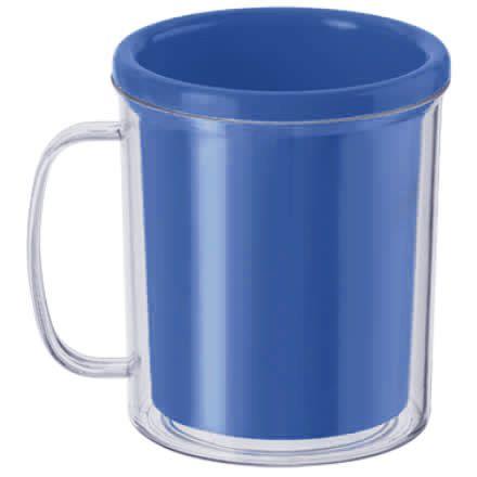Caneca para Foto - Azul Escuro 10cm x 8cm - Rizzo Embalagens