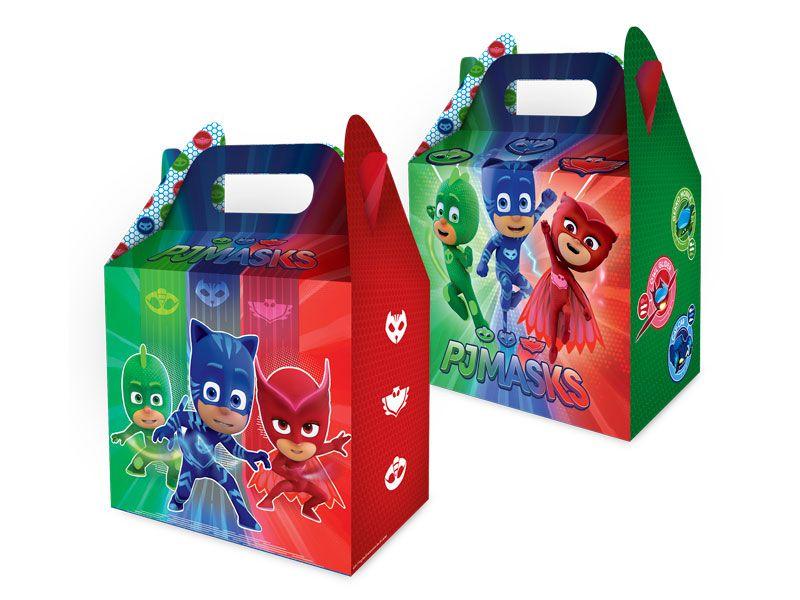 Caixa Surpresa Festa PJ Masks - 08 unidades - Regina - Rizzo Festas