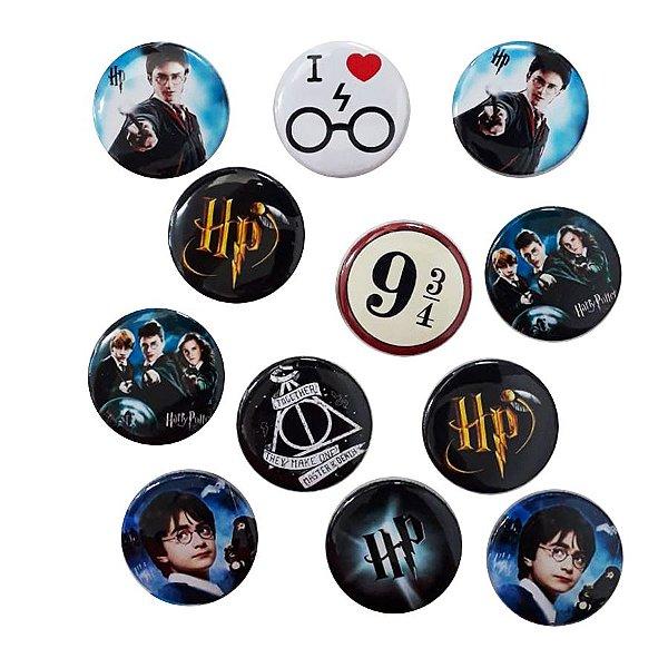 Bottom para Lembrancinha Festa Harry Potter - 12 unidades - Rizzo Embalagens