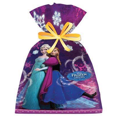 Sacola Surpresa Festa Frozen - 08 Unidades - Regina - Rizzo Festas