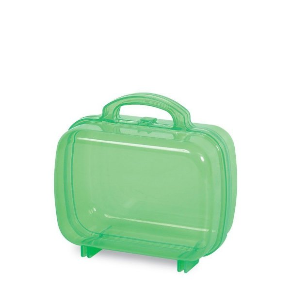 Maleta Acrílica para Lembrancinha Verde - 1 Unidade - MK Plásticos - Rizzo Festas