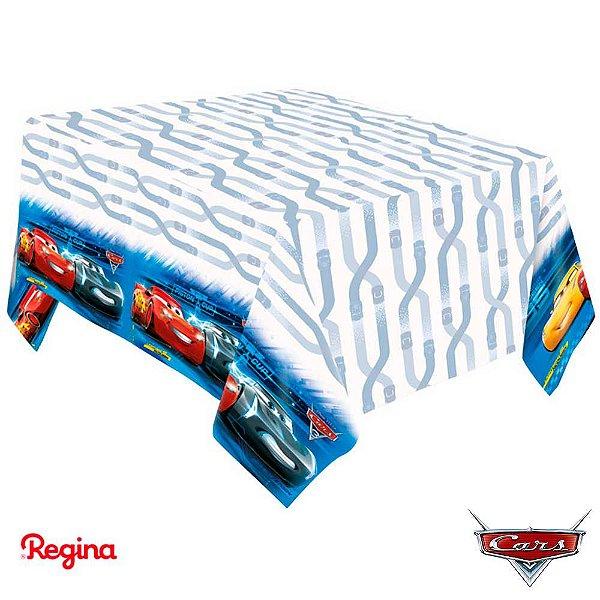 Toalha De Mesa Festa Carros - 01 unidade - Regina - Rizzo Festas