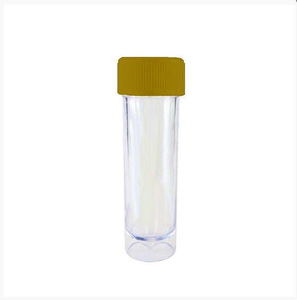 Mini Tubete Lembrancinha Ouro 9cm 10 unidades - Rizzo Embalagens e Festas