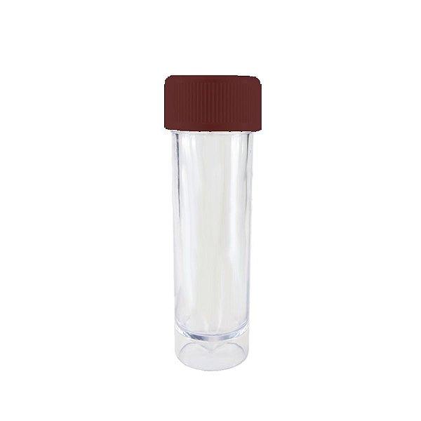 Mini Tubete Lembrancinha Marrom 9cm 10 unidades - Rizzo Embalagens e Festas
