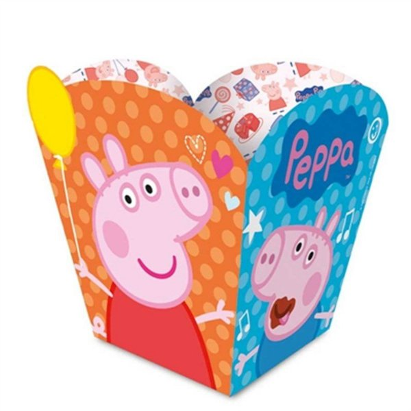 Cachepot Festa Peppa Pig - 08 unidades - Regina - Rizzo Festas