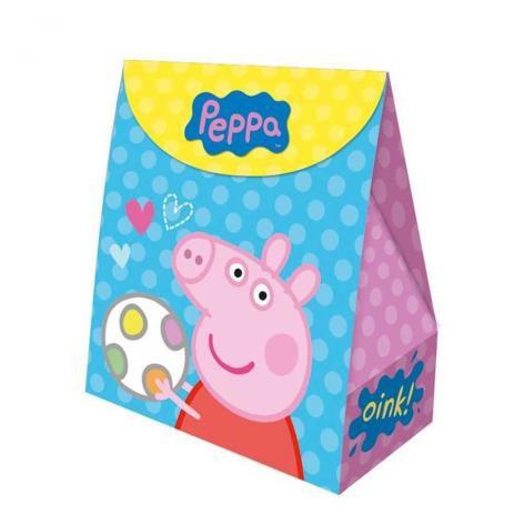 Caixa Surpresa Festa Peppa Pig - 08 unidades - Regina - Rizzo Festas