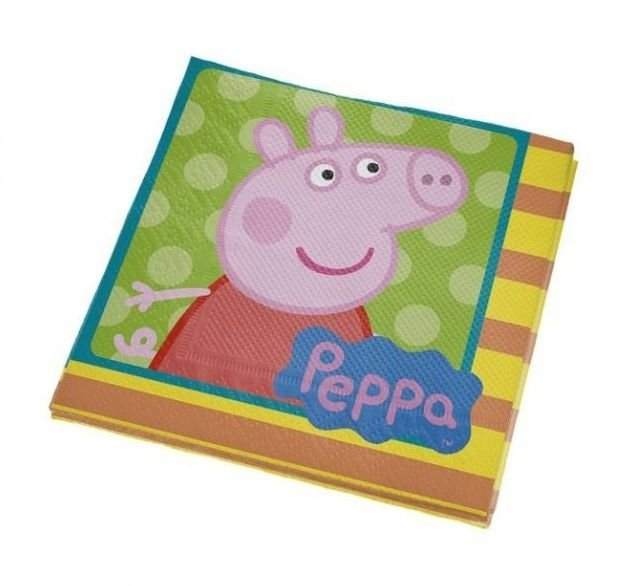 Guardanapo Festa - Peppa Pig - 16 unidades - Regina - Rizzo Festas